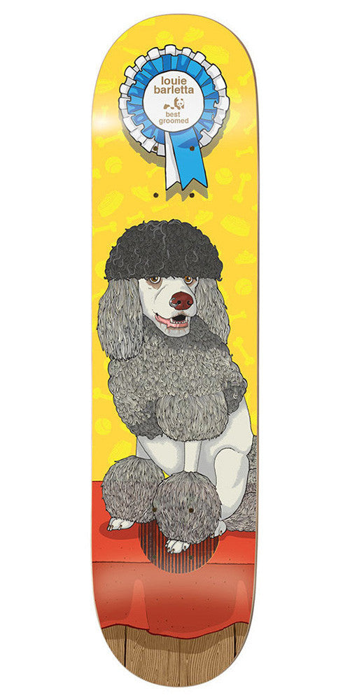 Enjoi Louie Barletta Best In Show Impact Plus - Yellow - 8.0in - Skateboard Deck