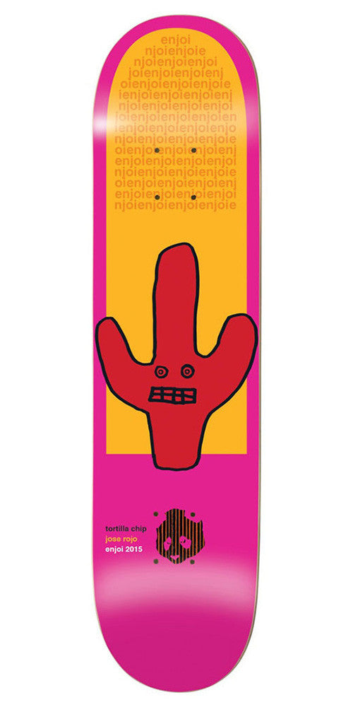 Enjoi Jose Rojo Cactus Impact - Pink - 8.0in - Skateboard Deck