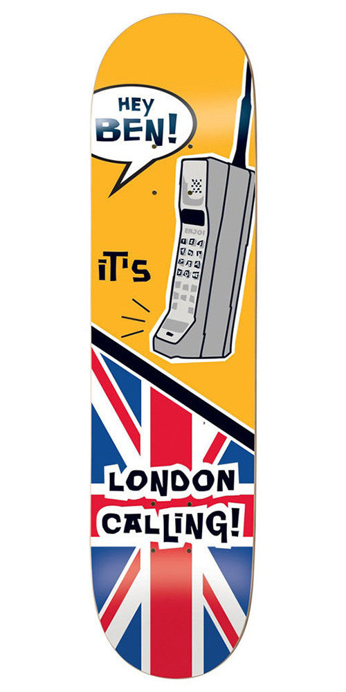 Enjoi Ben Raemers London Calling R7 - Multi - 8.375in - Skateboard Deck