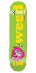 Enjoi Caswell Berry Heart Series R7 - Green - 8.5in - Skateboard Deck