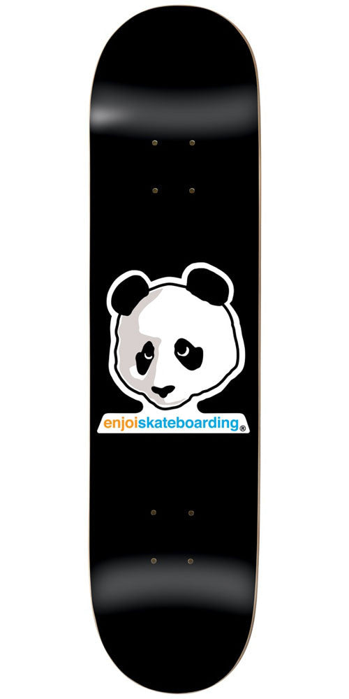 Enjoi Vato Panda R7 - Black - 8.5in - Skateboard Deck