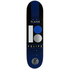 Plan B Felipe P2 Halftone - Blue/Black - 7.8 - Skateboard Deck