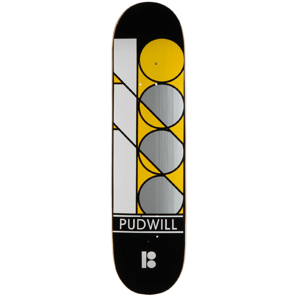 Plan B Pudwill Stack Mini - Black - 7.75 - Skateboard Deck