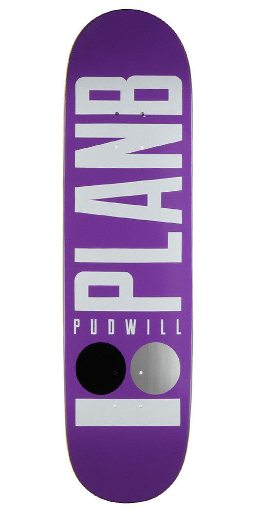 Plan B Pudwill Basic - Purple - 8.3 - Skateboard Deck