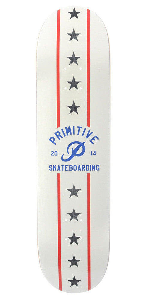 Primitive Dare Devil - White - 8.75 - Skateboard Deck