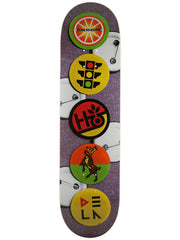 Habitat Buttons Delatorre - Purple - 8.18 - Skateboard Deck