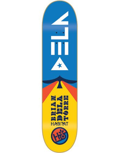 Habitat Soar Delatorre - Blue/Yellow - 8.0 - Skateboard Deck