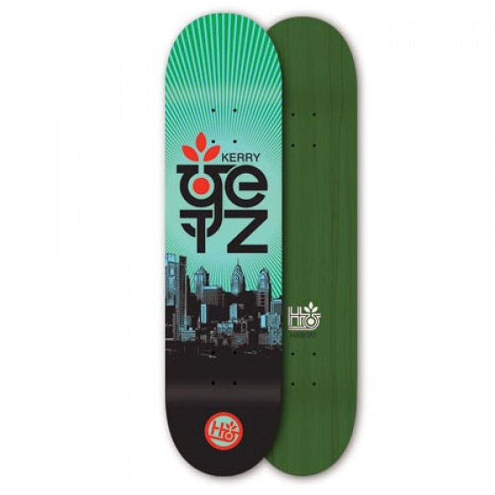 Habitat Kerry Getz Phil Limited - 8.0in x 32.0in - Green - Skateboard Deck