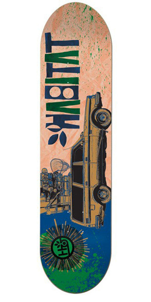 Habitat Moving Along - Multi - 8.25in - Skateboard Deck