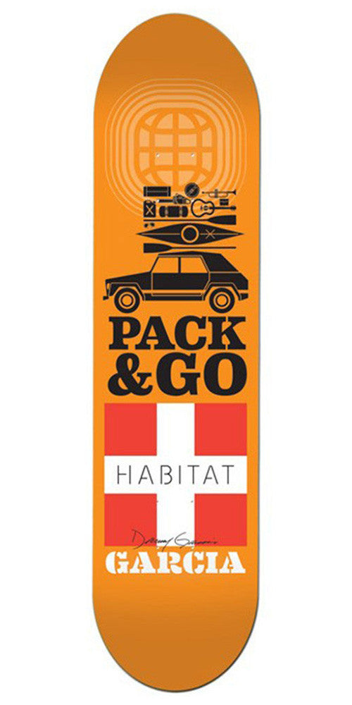 Habitat Danny Garcia Pack & Go - Orange - 8.0in - Skateboard Deck
