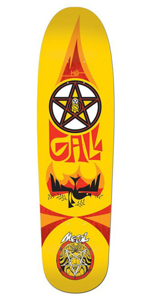 Habitat Fred Gall Hellbird Cruiser - Yellow - 8.5in - Skateboard Deck