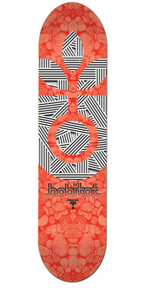 Habitat Terra Form Large - Orange - 8.5in - Skateboard Deck