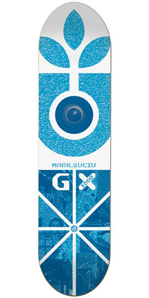 Habitat Suciu GX - White/Blue - 8.0in - Skateboard Deck