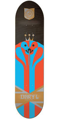 Habitat Angel Regalia - Blue/Red - 7.75in - Skateboard Deck