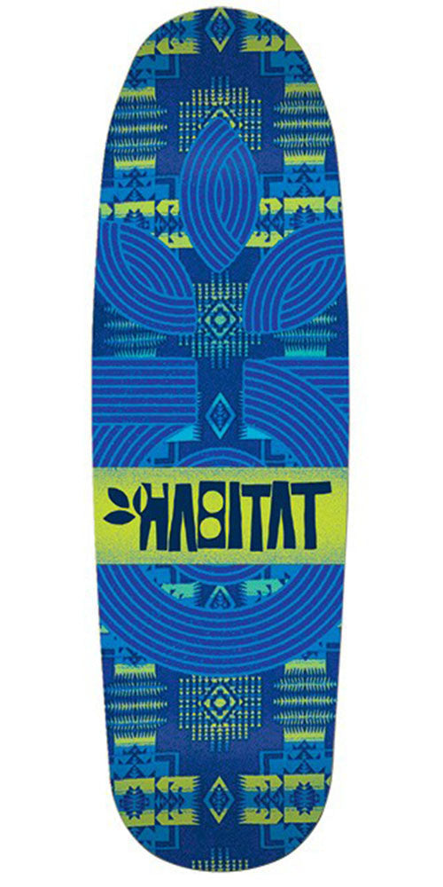 Habitat Native Cruiser - Blue - 9.0in - Skateboard Deck