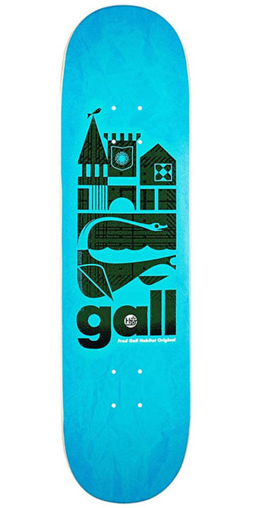 Habitat Fred Gall Original - Blue - 8.25in - Skateboard Deck