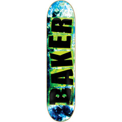 Baker Brand Toxic Cloud - Black/Blue - 8.12 - Skateboard Deck
