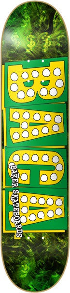 Baker SB Bake Junt - Green/Yellow - 8.25 - Skateboard Deck