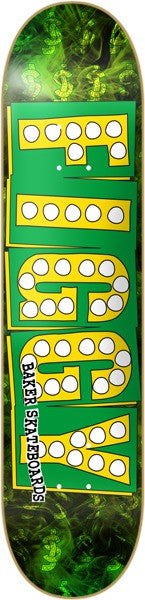 Baker JF Bake Junt - Green/Yellow - 8.47 - Skateboard Deck