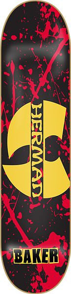 Baker BH Blood - Gold/Red/Black - 8.0 - Skateboard Deck