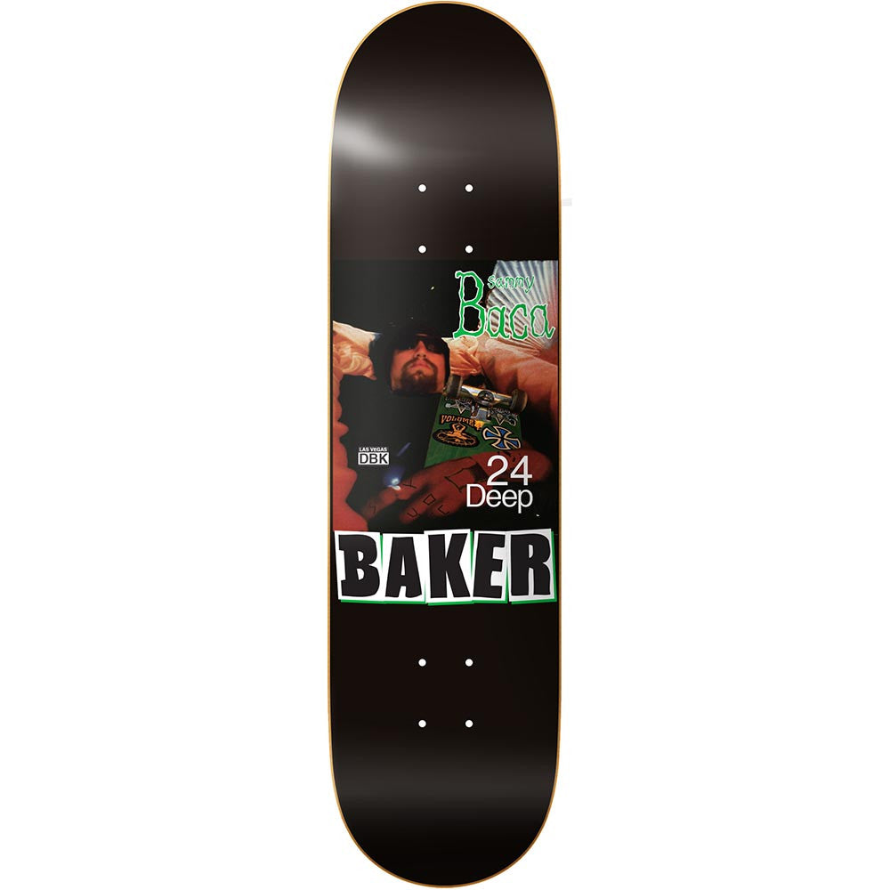 Baker Baca Lynch - 8.475in x 31.875in - Black - Skateboard Deck