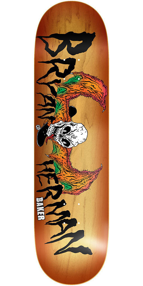 Baker Bryan Herman Demon Daze - Brown - 8.0in - Skateboard Deck