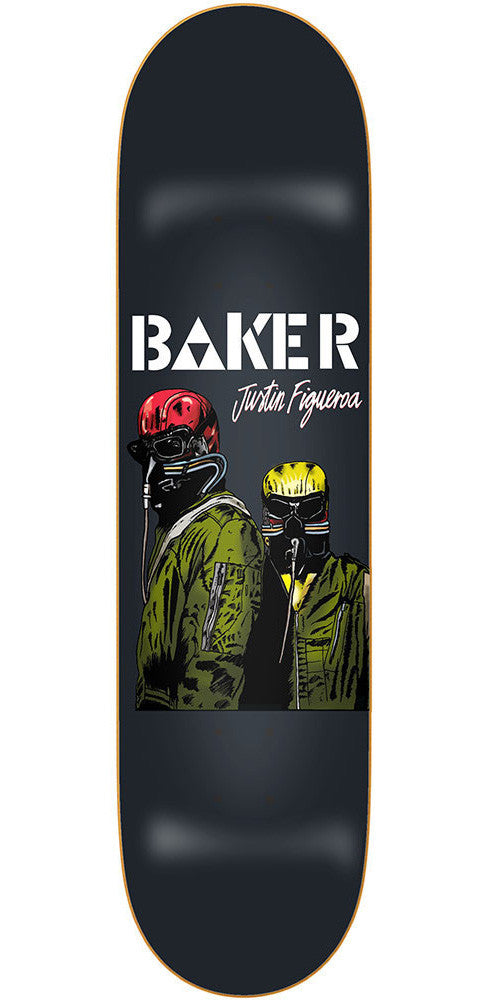 Baker Justin Figueroa Never - Black - 8.25in - Skateboard Deck