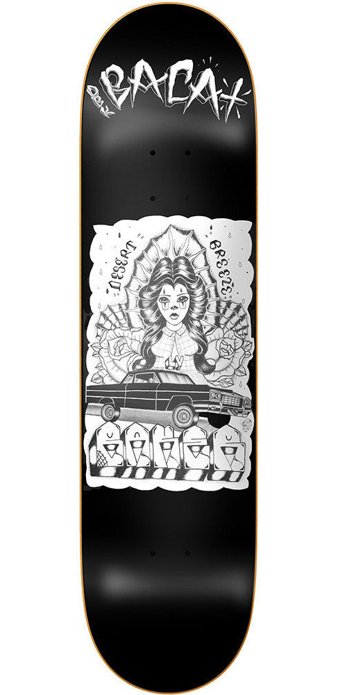 Baker Sammy Baca Bloccster - Black - 8.0in - Skateboard Deck