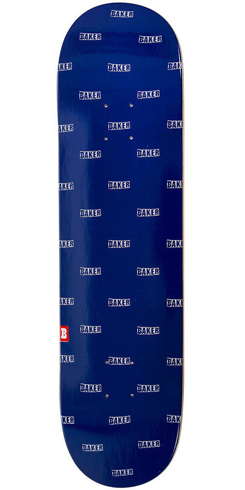 Baker Louie - Navy/White - 8.125in - Skateboard Deck
