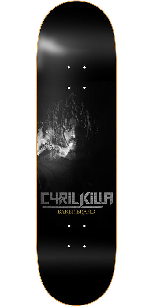 Baker CJ Sosa - Black - 8.475in - Skateboard Deck