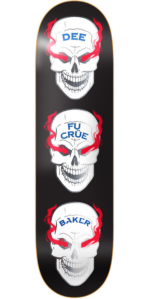 Baker DO Blood Shot - Black - 8.475in - Skateboard Deck