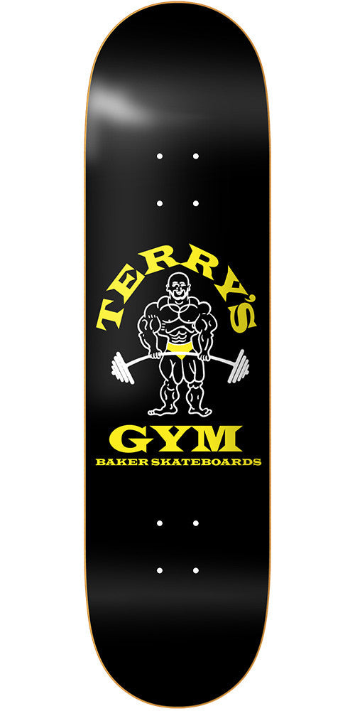 Baker TK Terry's Gym - Black - 8.125in - Skateboard Deck