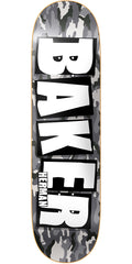 Baker BH Brand Name - Stone Camo - 8.25in - Skateboard Deck