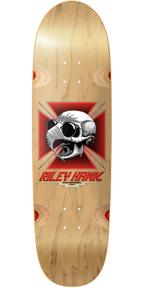 Baker RH Tribute Cruiser - Natural - 8.75in - Skateboard Deck