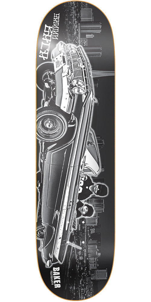 Baker SB Young G's - Black/White - 8.25in - Skateboard Deck