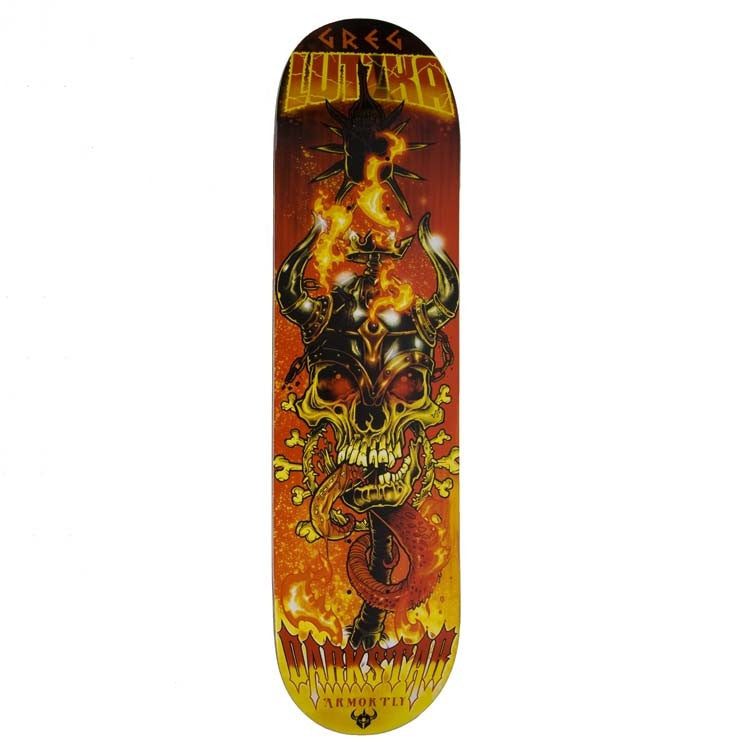 Darkstar Force AP - Orange/Red - 8.0 - Skateboard Deck