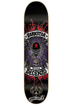 Darkstar Haven Series AL3 Ryan Decenzo - Black - 8.0 - Skateboard Deck