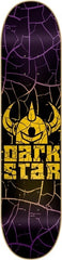 DarkStar Crack SL - Gold/Purple - 8.0 - Skateboard Deck
