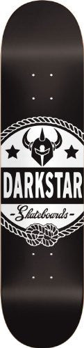 DarkStar General SL - Black/White - 7.75 - Skateboard Deck