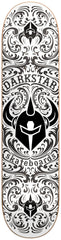 DarkStar Convolute SL - Black/White - 7.9 - Skateboard Deck