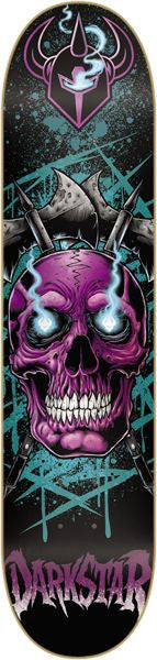 DarkStar Entrance Eyes SL - Black/Purple - 8.25 - Skateboard Deck