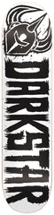 Darkstar Brush SL - Black/White - 7.9 - Skateboard Deck