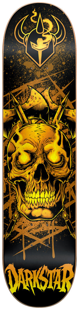 Darkstar Entrance Eyes SL - Yellow - 7.75 - Skateboard Deck
