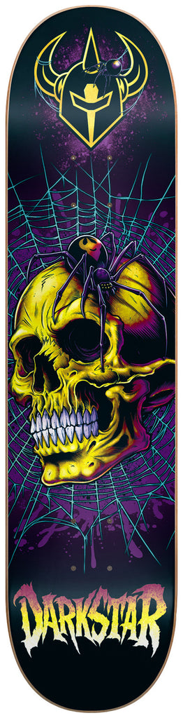 Darkstar Entrance Spider SL - Yellow - 8.25 - Skateboard Deck