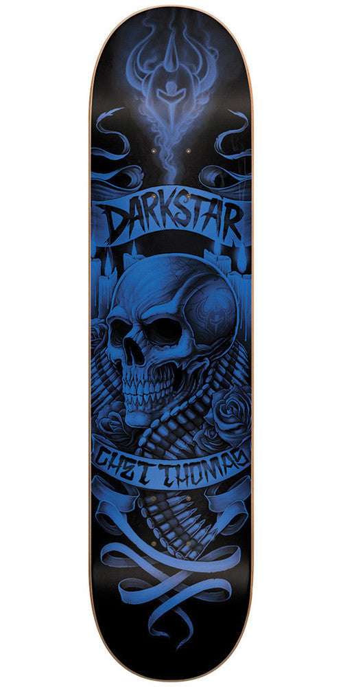 Darkstar Chet Thomas Shrine SL - Blue/Black - 7.75 - Skateboard Deck