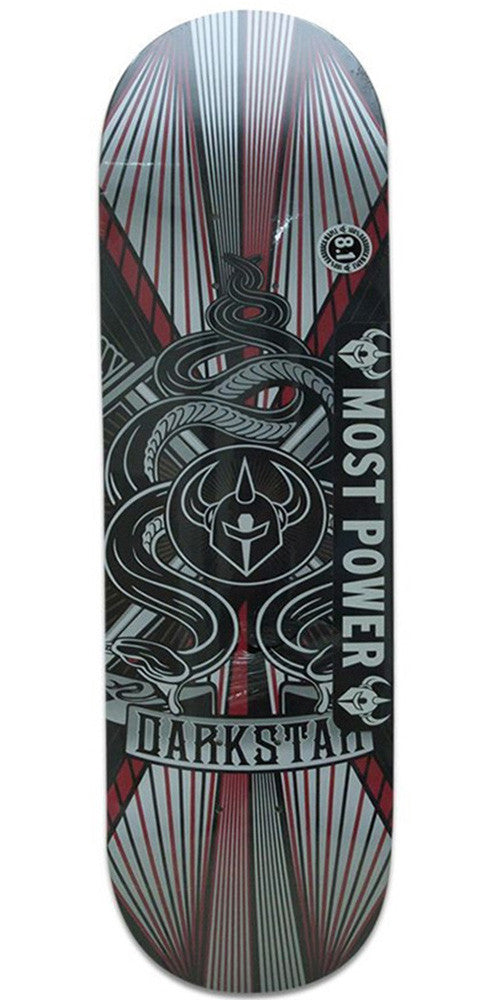 Darkstar Serpent SL - Red - 8.1 - Skateboard Deck