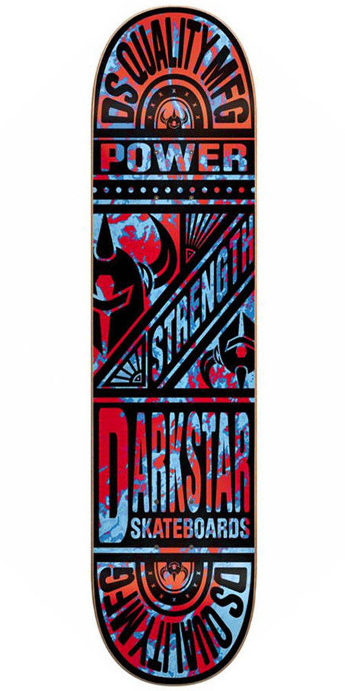 Darkstar Keystone SL - Red/Blue - 8.25 - Skateboard Deck