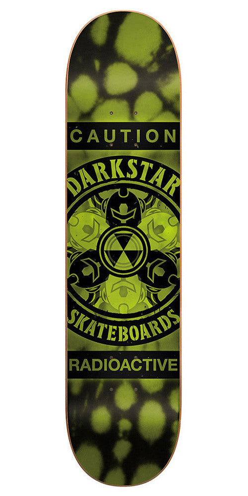 Darkstar Radioactive SL - Army Green - 8.25 - Skateboard Deck