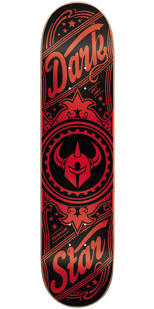 Darkstar Vintage SL - Red - 7.5 - Skateboard Deck