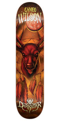 Darkstar Cameo Wilson Dream Catcher Series - Orange - 7.75in - Skateboard Deck